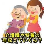 介護福祉士や老健や特養やケアマネの年収や給料その3
